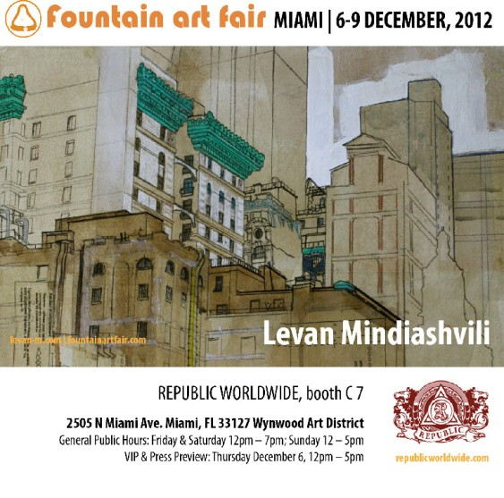Levan Mindiashvili _ Fountain Art Fair